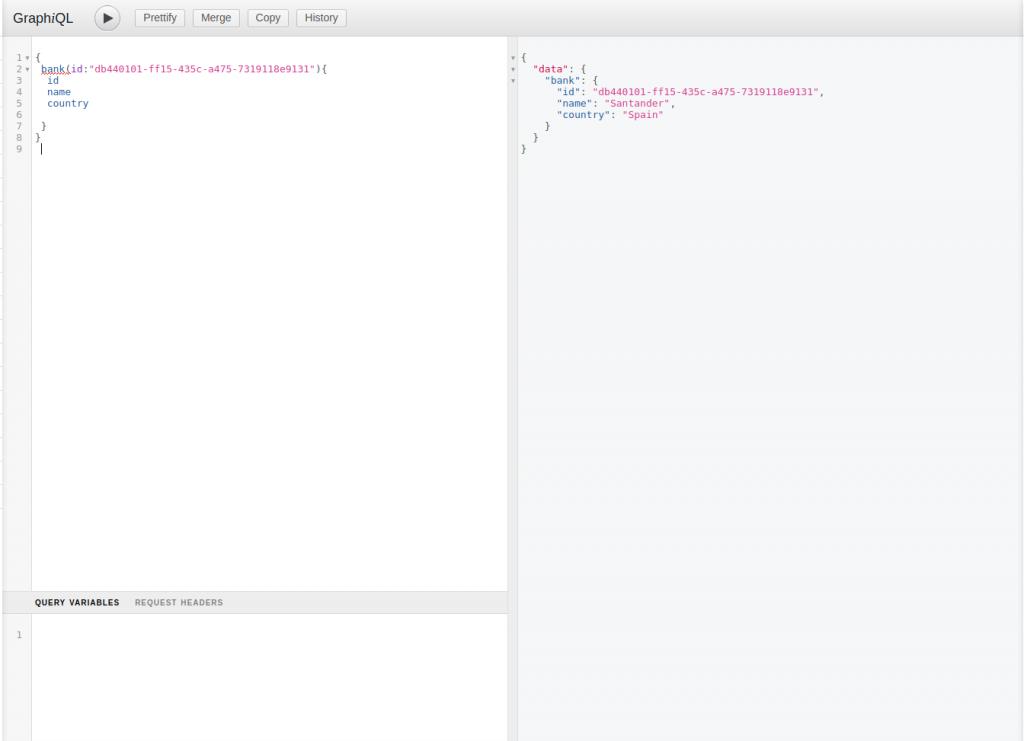 Consulta en GrapQL por Id | Ejemplo de GraphQL con Spring Boot y Netflix DGS