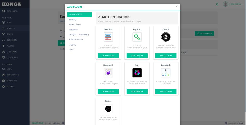 Añadir plugin en Kong | Arquitectura de Microservicios con Kong API Gateway y Konga
