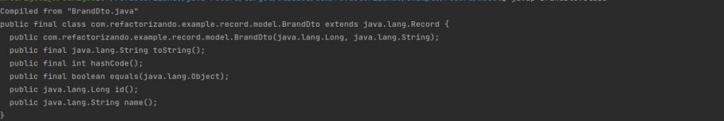Compilación de records en Java | Ejemplo en Spring Boot con records de Java 16